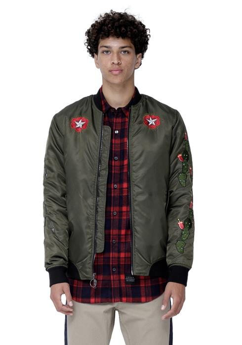 Konus MENS MA-1 Bomber Jacket with Embroidery