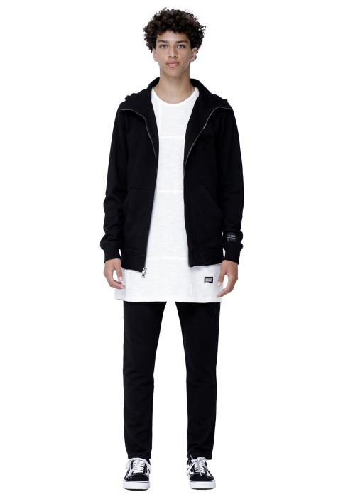 Konus Zip Up Hoodie with Chenille Embroidery