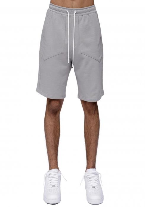 Konus Sweat Shorts with Reverse Fabris Stripes