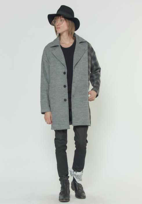 Konus Oversized Wool Blend Coat