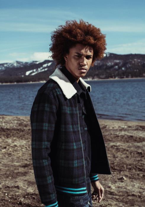 Konus Wool Sherpa Collar Jacket