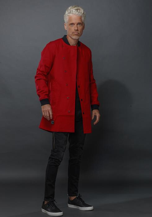 ELONGATED TWILL JACKET