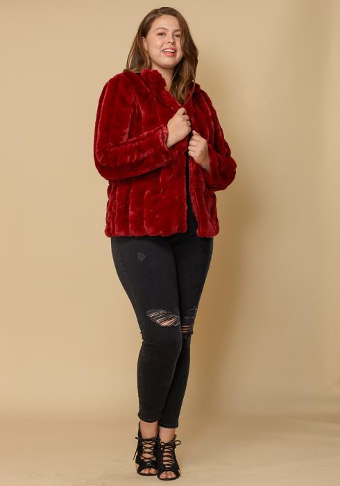 Asoph Plus Size Faux Fur Women