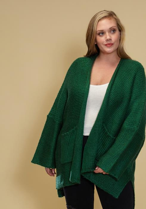Asoph Plus Size Oversized Loose Cardigan