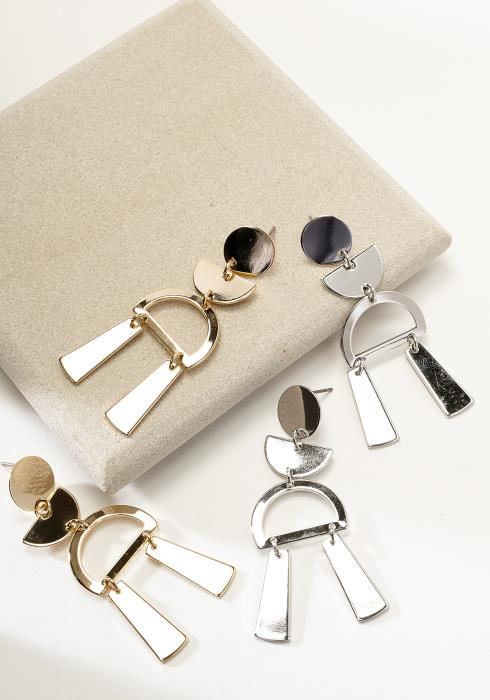 Contemporary Drop Earring