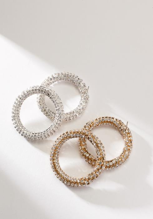 Cubic Round Earring