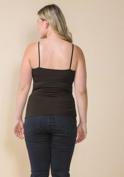 Asoph Plus Size Basic Cami Top