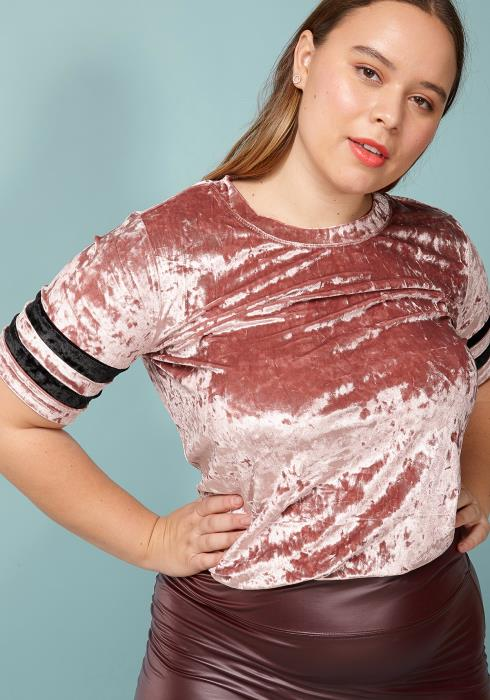 Asoph Plus Size Passion For Fashion Short Sleeve