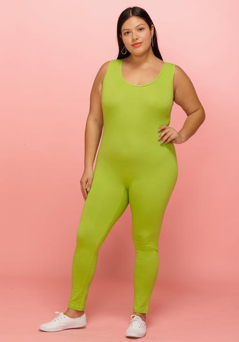Asoph Plus Size Sleeveless Scoop Neck Jumpsuit