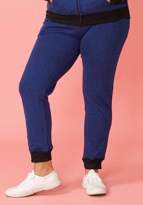 Asoph Plus Size Comfy Cuffed Sweatpants
