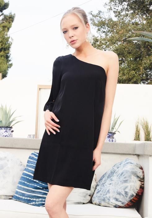 Ro&De One Shoulder Party Dress