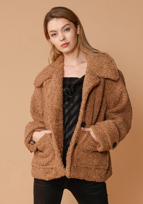 Nurode Shearling Coat