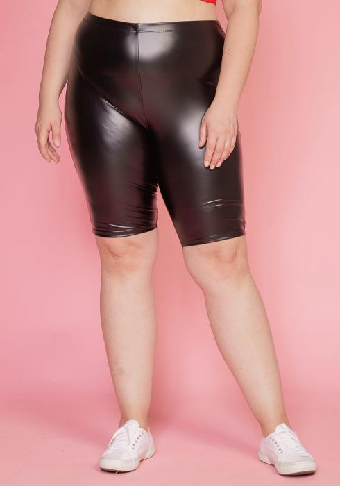 Asoph Plus Size Stretchy Bike Shorts