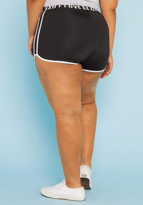 Asoph Plus Size Lounging Shorts