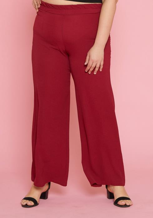 Asoph Plus Size High-Waisted Pants