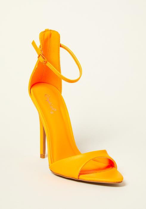 Qupid Ankle Strap Heel