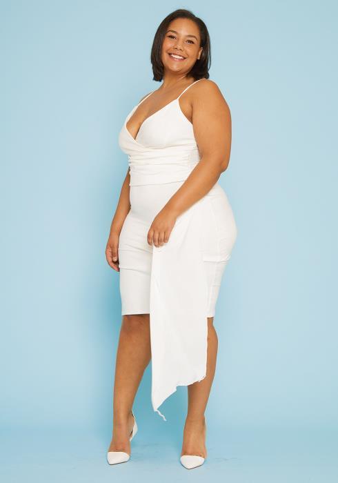 Asoph Plus Size Bodycon Dress