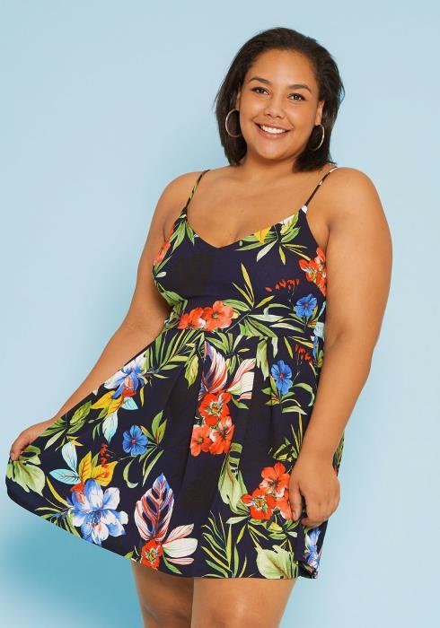 Asoph Plus Size Sun Dress