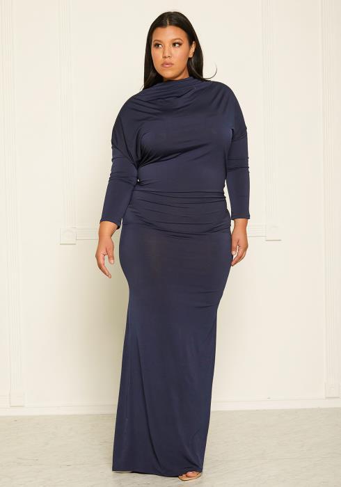 Asoph Plus Size Mermaid Gown