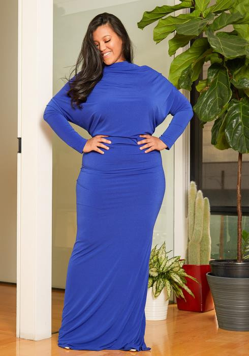 Asoph Plus Size Mermaid Gown