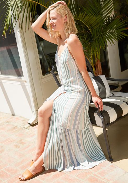 Tansy Stripe Maxi Dress