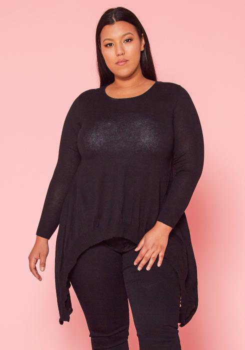 Asoph Plus Size Knit Sweater