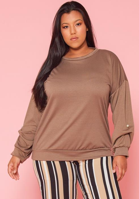 Asoph Plus Size Pullover Top