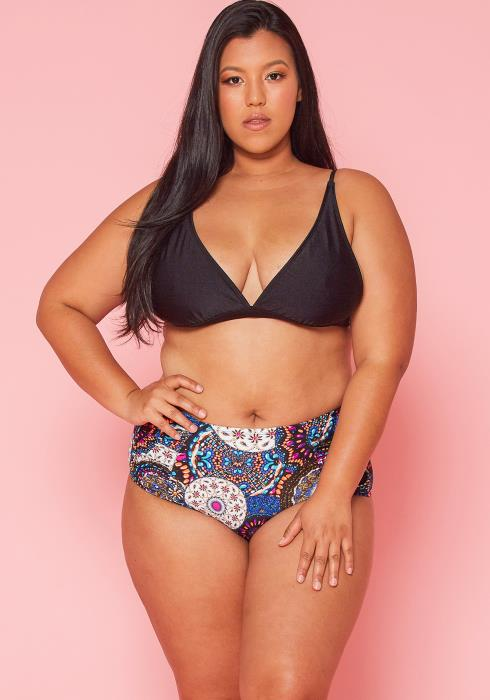 Asoph Plus Size Bikini Bottom