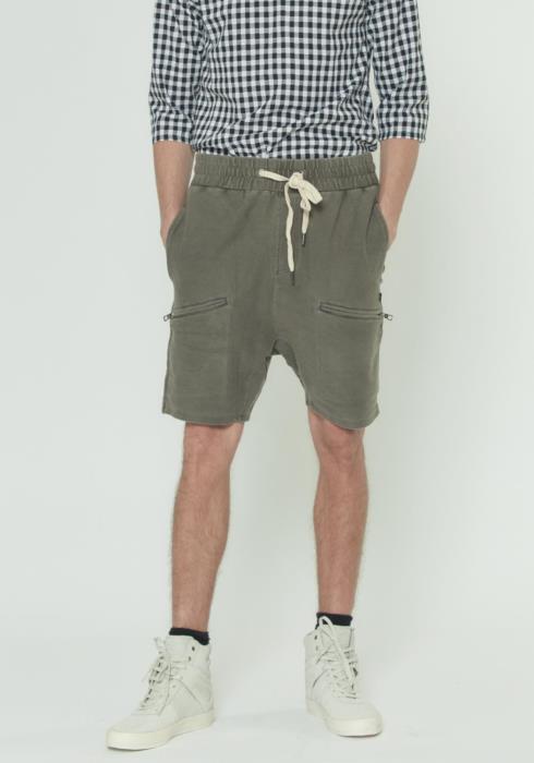 Heavy Denim Knit Shorts