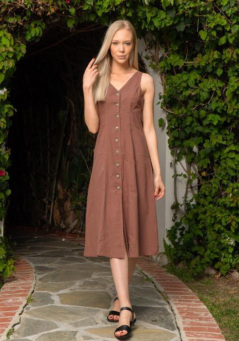 Tansy Empire Denim Dress