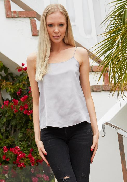Tansy Silk Cami Top