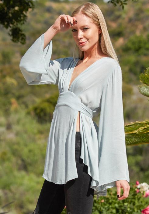 Tansy Pleated Blouse