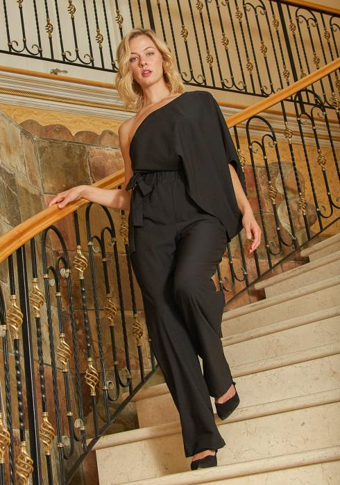 Tansy One Shoulder Jumpsuit
