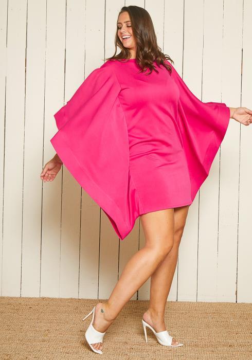 Asoph Plus Size Dolman Bodycon Dress