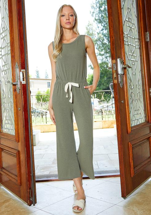 Tansy Sleeveless Casual Jumpsuit
