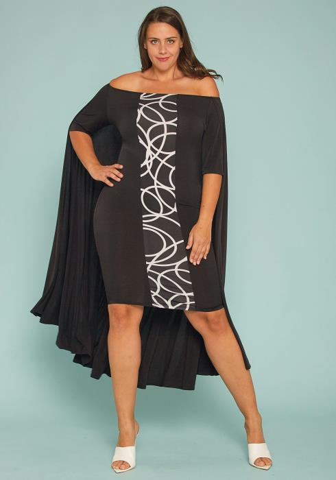 ba10f2578 Asoph Plus Size Color Blocking Pleated Maxi Skirt | Asoph.com