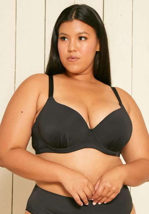 Asoph Plus Size Ruched Bra