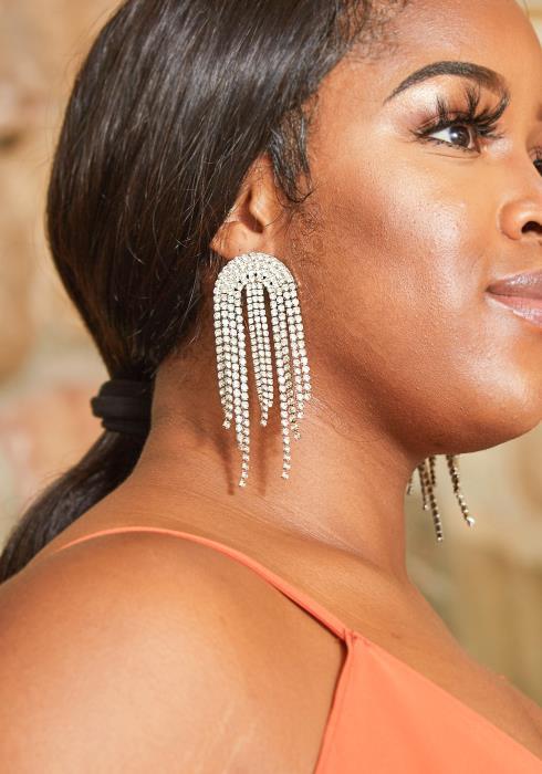 Yara Cubic Drop Earrings