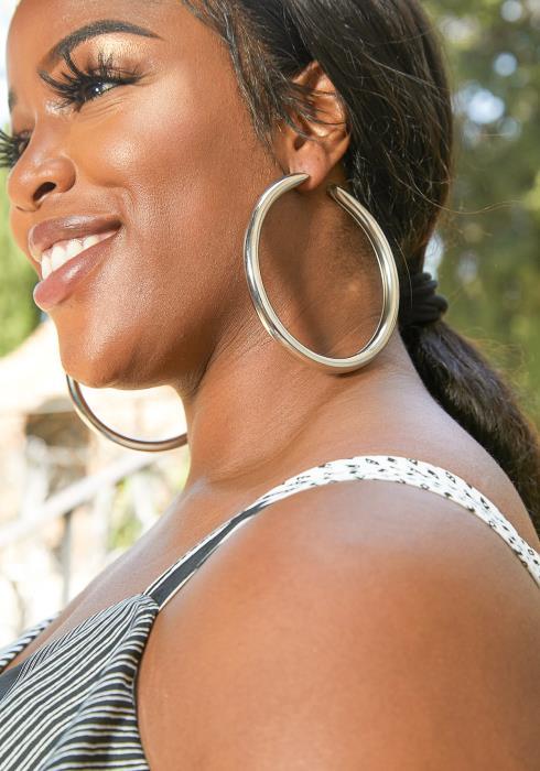 Mylah Hoop Earrings
