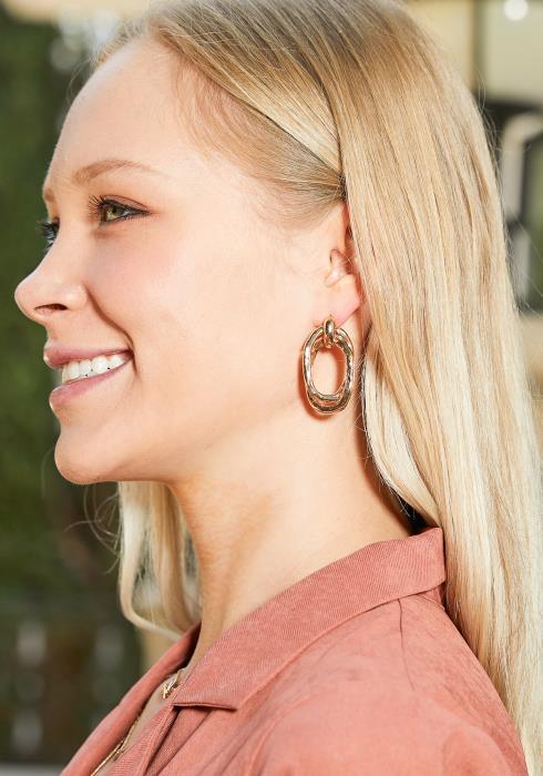 Nia Gold Earrings