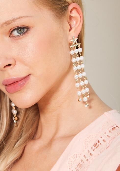 Talia Pearl Drop Earrings