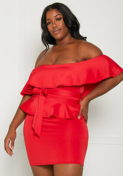 Asoph Plus Size Cocktail Time Dress