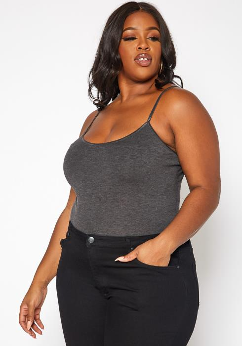 Asoph Plus Size Hip Length Cami