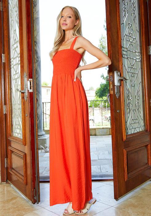 Tansy Smocked Maxi Dress