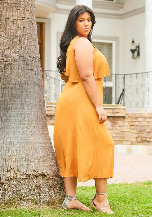 Asoph Plus Size Sleeveless Maxi Dress