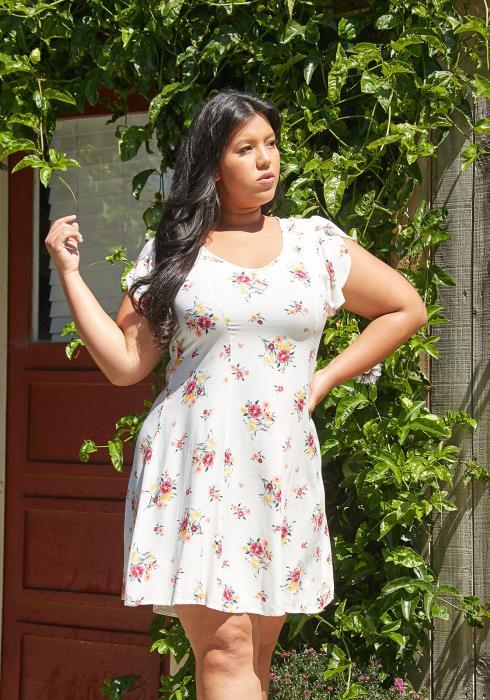 Asoph Plus Size Sunshine Dress