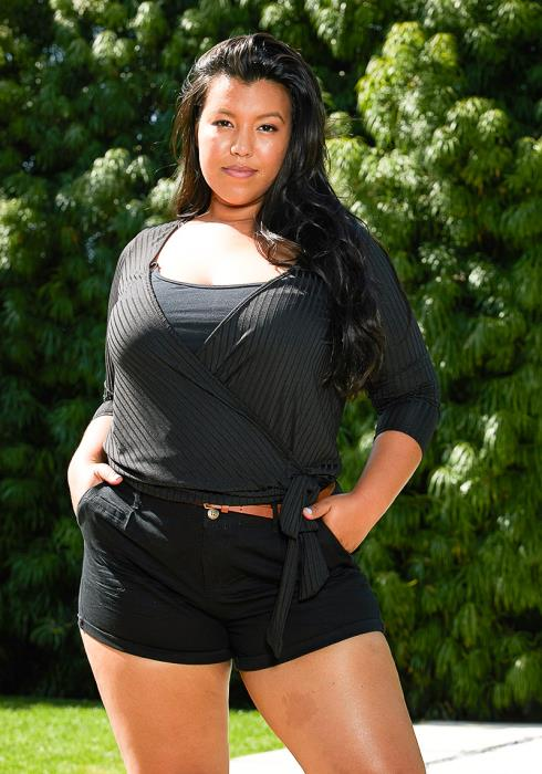Asoph Plus Size Casual Shorts