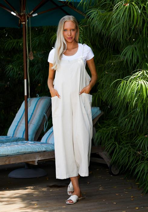 Tansy Casual Wide Leg Jumpsuit