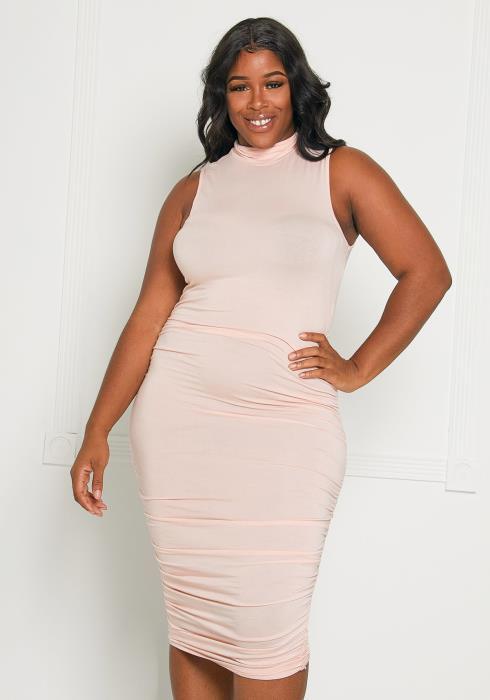 Asoph Plus Size Lets Keep it Classy Bodycon Dress