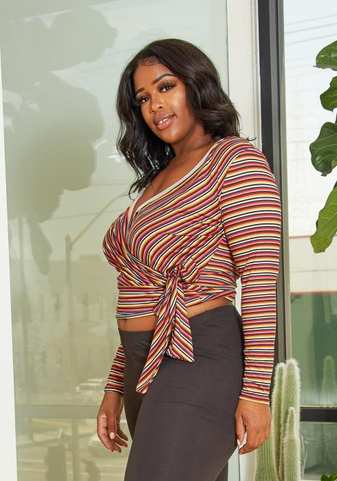 Asoph Plus Size Sweet Like Candy Top